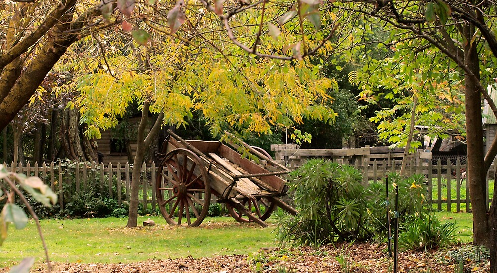 Autumn Wagon by Rebelle