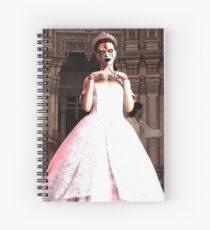 A creepy ball Spiral Notebook