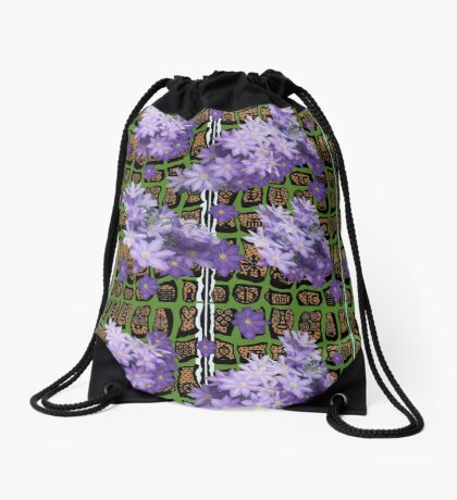 Call of the wild Drawstring Bag