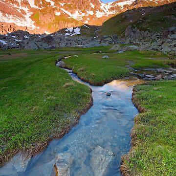«A la source du Rhin» par Isenmann