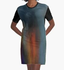 Abstraction ONE Graphic T-Shirt Dress