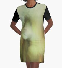 Abstraction THREE Graphic T-Shirt Dress