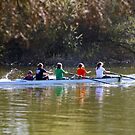 Thames Ladies Rowing Club in Spring by blindskunk