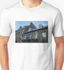 Old Stone Houses in Quebec City, Canada  T-Shirt