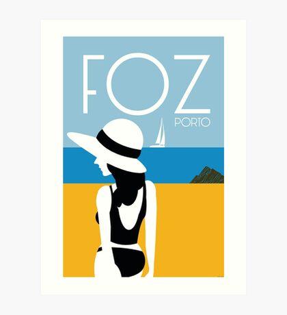 Foz Art Print