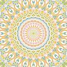 Wiese Mandala von Kelly Dietrich