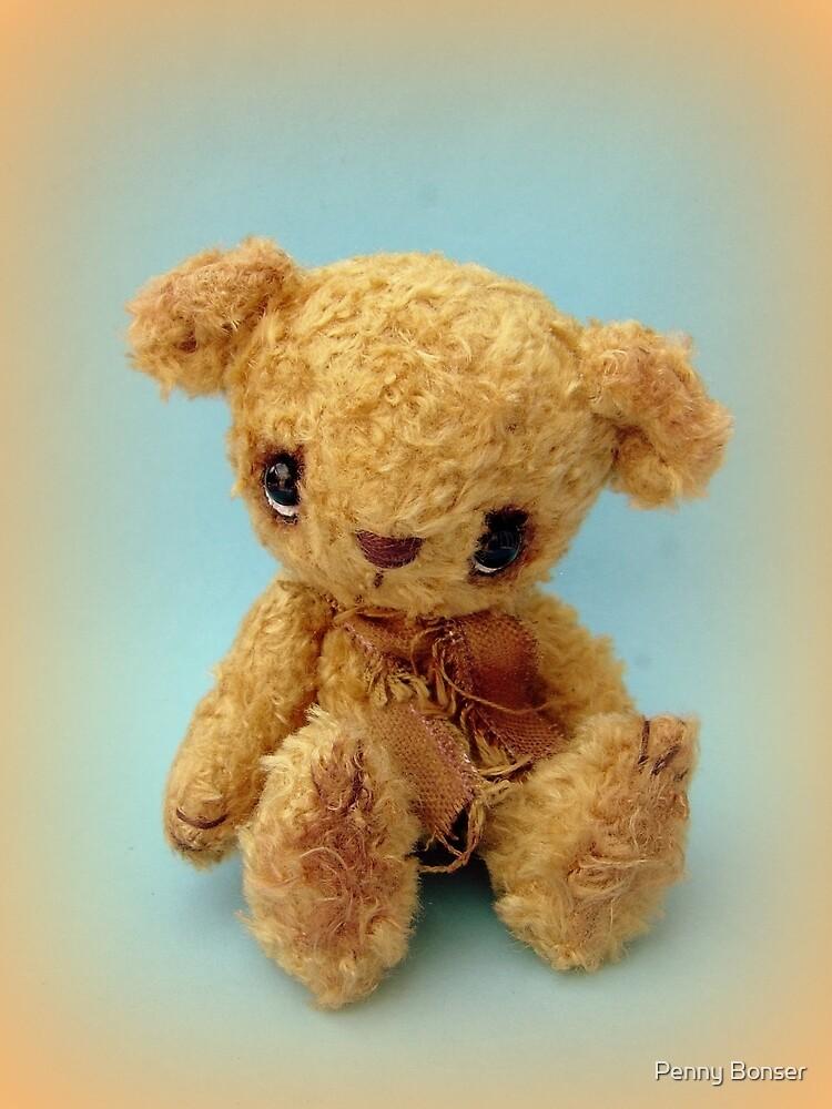 Neville - Handmade bears from Teddy Bear Orphans by Penny Bonser