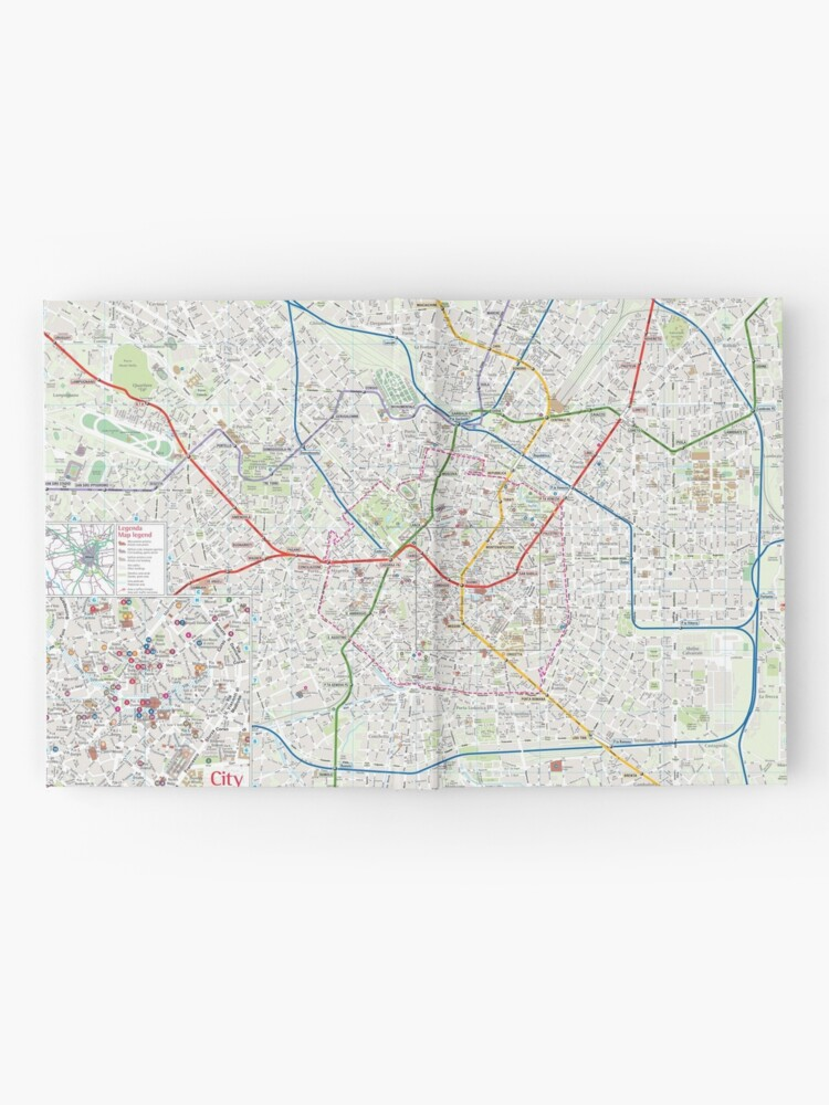 Milano - City Center Map - Italy - HD | Hardcover Journal on city map of kahoolawe, city map of bolivia, city map of estonia, city map of the netherlands, city map of slovenia, city map of libya, city map of tanzania, city map of myanmar, city map of the carolinas, city map of bosnia and herzegovina, city map of kuwait, city map of slovakia, city map of antigua, city map of latin america, city map of aruba, city map of tuscany, city map of bahrain, city map of mesopotamia, city map of luxembourg, city map of holland,