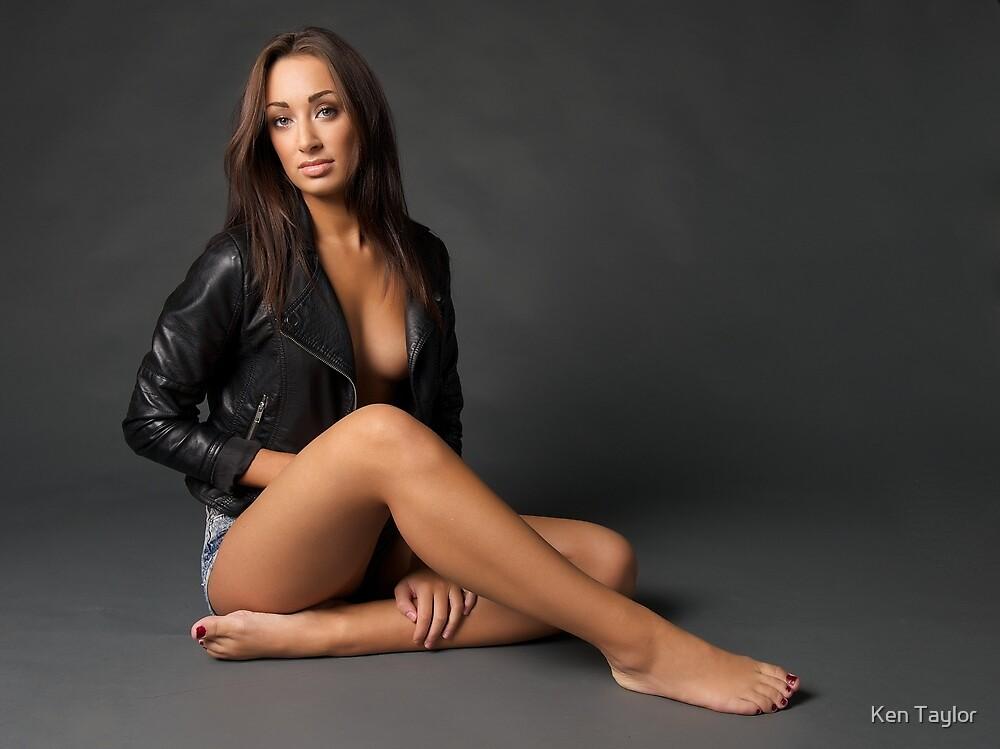 Danielle - Leather Jacket by Ken Taylor