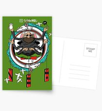 Spirited Away Bath House Crest Postcards