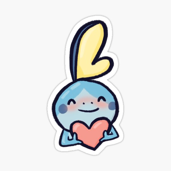 Sobble Heart Sticker