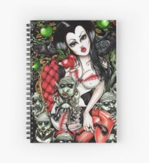 snow white Spiral Notebook