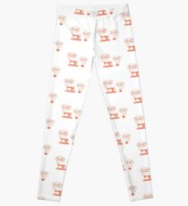 She Loves Me More Sewing Coffee II - Sewing & Quilting Gift Leggings