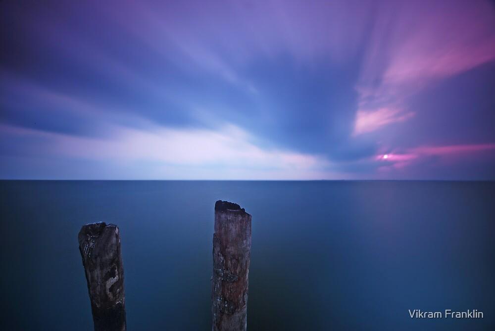 Poles apart by Vikram Franklin