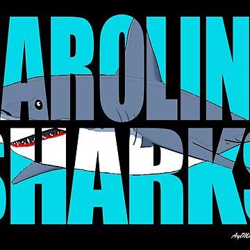Carolina Sharks by ayemagine