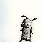 Fuzzy little bloke by inks