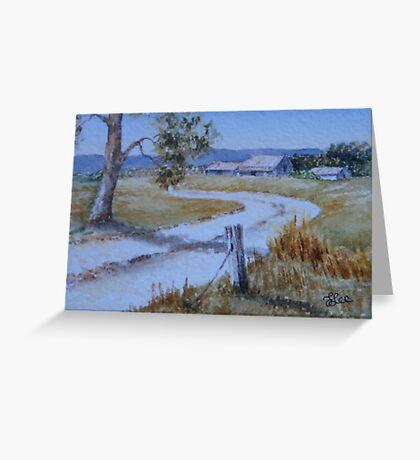 Miniature Series -The Homestead Greeting Card