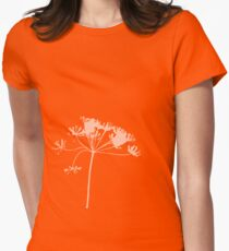 flower tees  Womens Fitted T-Shirt