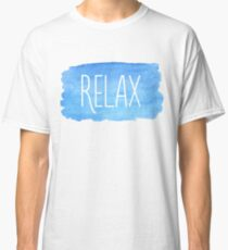 Watercolor Relax Classic T-Shirt