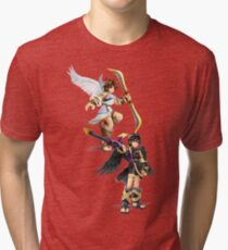 Pit and Dark Pit Tri-blend T-Shirt