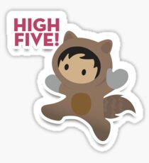 Pegatina Salesforce High Five