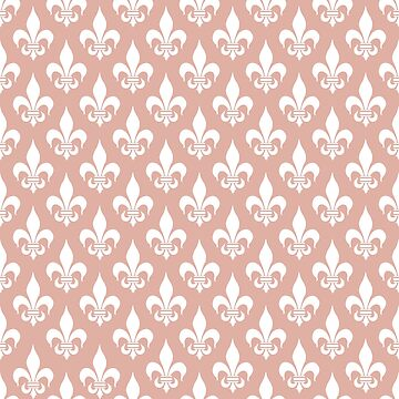 Fleur-de-Lis: Light Pink by MilitaryCandA