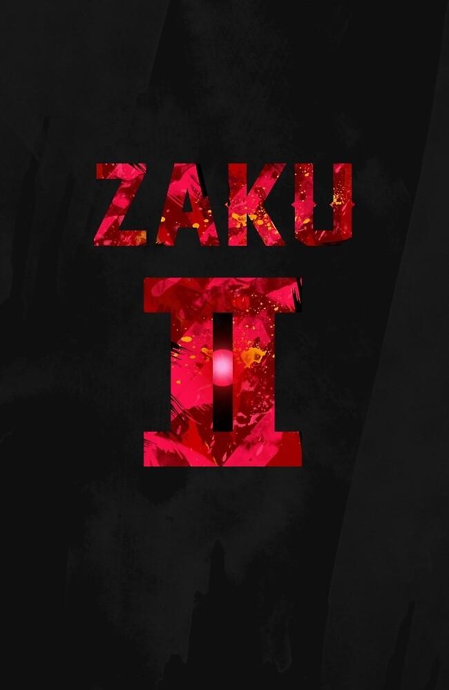 Char's Zaku II by ashplus