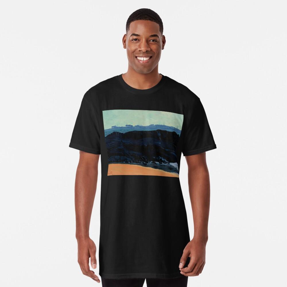 Inishturk from Eyrephort (Galway, Ireland) Long T-Shirt