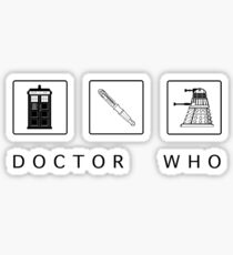 Dr. Who Sticker