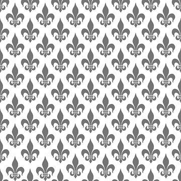 Fleur-de-Lis: Grey by MilitaryCandA