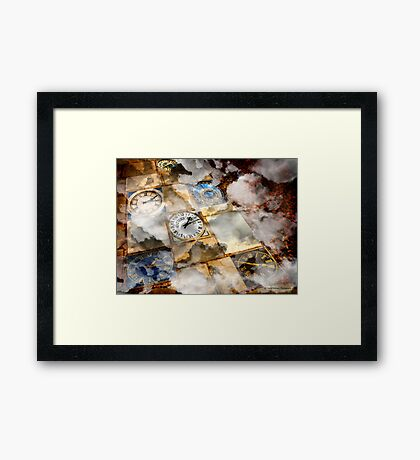 Time Traveler Framed Print