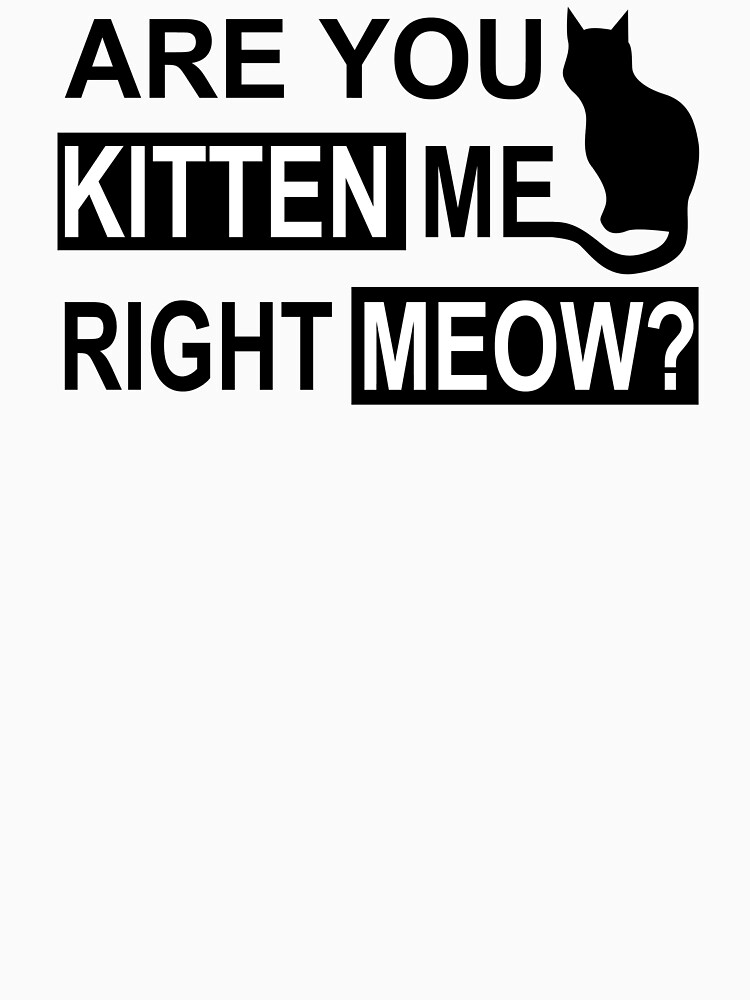 Are You Kitten Me Right Meow by DanendraCute