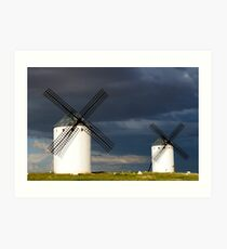 """The Route of """"Don Quijote"""" Art Print"""