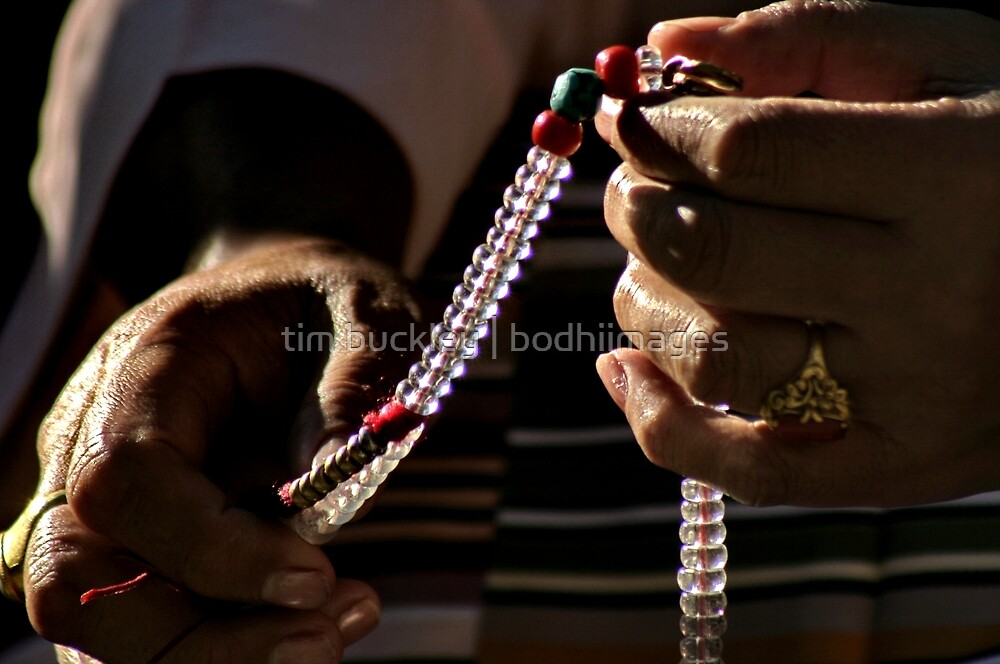 prayers for peace. northern india by tim buckley   bodhiimages