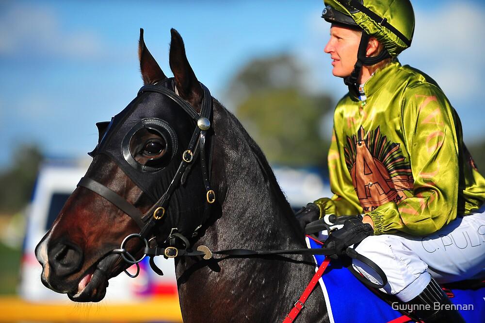 Anzac jockey by Gwynne Brennan