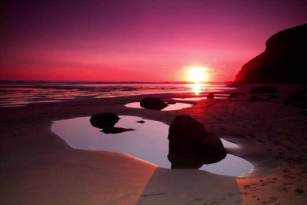 Cornwall Sunset by Darren Shilson