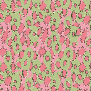 Juiciest Fruit - Green and Pink by enlarsen