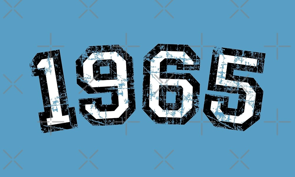 Year 1965 Vintage Birthday by theshirtshops
