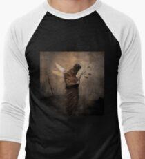No Title 108 T-Shirt Men's Baseball ¾ T-Shirt