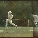 Cricketer at the wicket by friendlydragon