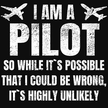 Pilot co-pilot captain by Tengelmaker