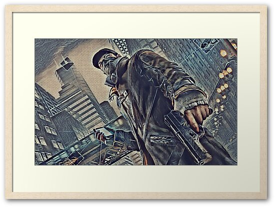 watch Dogs Game Art
