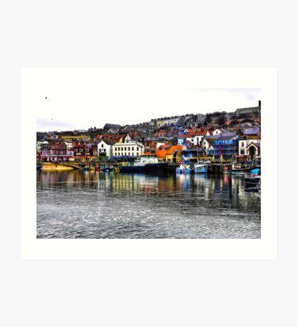 Scarborough Harbour #2 Art Print