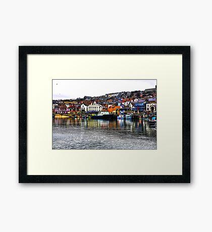 Scarborough Harbour #2 Framed Print
