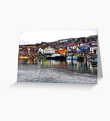 Scarborough Harbour #2 Greeting Card