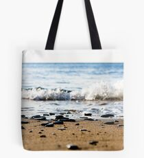 Tide line Crackington Haven Tote Bag