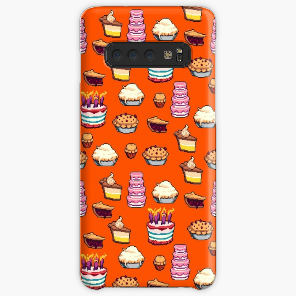 Pastry Pixel Pattern Case & Skin for Samsung Galaxy