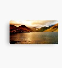 Lake district national park Canvas Print