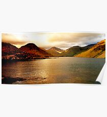 Lake district national park Poster