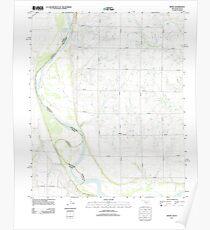 USGS TOPO Map Texas OK Irving 20121105 TM Poster